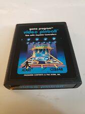 Video Pinball (Atari 2600, 1981)