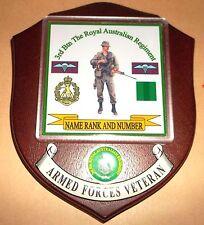 Australian Armed Forces,3rd Btn. Royal Australian Regiment Veteran Wall Plaque.