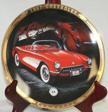 1957 Corvette Hamilton Collector Plate 8 inch Lim. Ed. #1559A