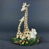 Giraffe Figurine Mom and Child Gentle Giraffes 1997 by Banberry Designs Inc.