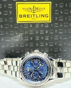 Breitling B-2 Professional Chronograph Blue