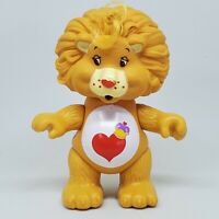 Vintage Care Bears Cousin Poseable Figure Brave Heart Lion 1985 Kenner
