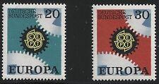 Germany Scott #996-97, Singles 1969 Complete Set FVF MNH