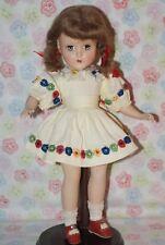 GORGEOUS! Vintage 14 R&B Nanette Hard Plastic Strung Doll