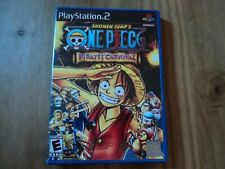 One Piece Pirates Carnival Case for PS2 - Empty Rep Box Only