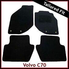 Volvo C70 Mk1 1997-2005 Tailored Fitted Carpet Car Floor Mats BLACK
