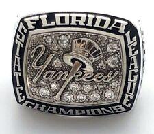 2009  New York Yankees Minor League Baseball Champions MLB Championship Ring!