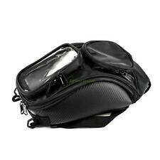 Universal Magnetic Motorcycle Motorbike Oil Fuel Tank Bags Pockets Travel Black
