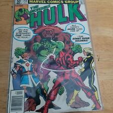 Incredible Hulk #258 Vf+ 1st Appearance Ursa Major Black Widow Movie Newsstand