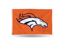 Denver Broncos Authentic 3x5 Indoor/Outdoor Flag Banner NFL Hologram