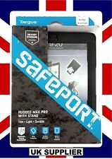 Targus SafePort Rugged Max Pro Case With Stand/Handle for iPad 2 3 4  THD064US#£