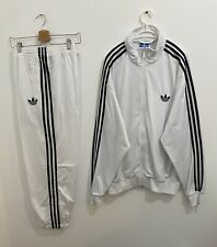 Adidas Originals ADI-Firebird Tracksuit White Black Size 3XL