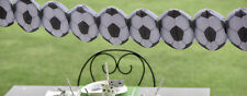 3.25mtr Football paper garland bunting, birthday party decor, tournament, match