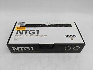 Rode NTG1 Directional Condenser Microphone Black -JL0437
