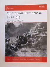 Osprey Book: Operation Barbarossa 1941 (1) - Campaign 129  Ukraine and Crimea