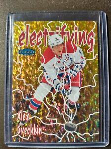 2012-13 Fleer Retro ALEX OVECHKIN #20 Electrifying *RARE* Capitals SP ~ AC2A