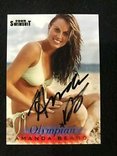 Amanda Beard Olympic Medalist 2005 Sports Illustrated Swimsuit #OL1 Auto JSA COA