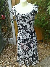 Zara Polyester Women's Round Neck Dresses