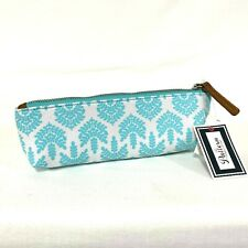 Pattern By Tiffany Lerman Brush Pencil Small Cosmetic Bag Canvas Organize Makeup
