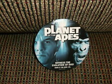 Planet Of The Apes Mark Wahlberg Promotional Movie Pin 2001 3 Inches Round
