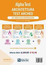 9788848323550 Alpha Test. Architettura. Kit completo di preparaz...i simulazione