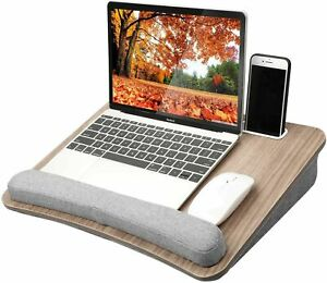 HUANUO Lap Laptop Desk - Portable Lap Desk with Pillow Cushion, Fits up to 15...