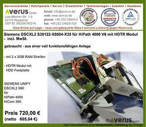 Siemens DSCXL2 080 für HiPath 4000/S30122-X8004-X35/mit HDTR Modul/incl. MwSt.