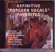 V.A. - DEFINITIVE POPCORN VOCALS FAVORITES MARGINAL CD