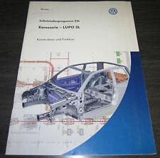 VW Lupo 3L  Karosserie  Selbststudienprogramm SSP 216  Stand 03/1999