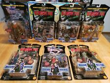 Resident Evil 1&2 Toy Biz Capcom lot of 7 sealed figures Video game Super stars