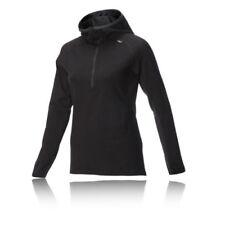 Camisetas y tops de deporte de mujer de manga larga negros