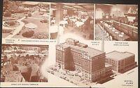 Hotel Alms Cincinnati Ohio Vintage Postcard D129
