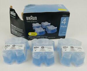 Braun Clean & Renew Lemon Refill Cartridges 3-Pack (Missing One)