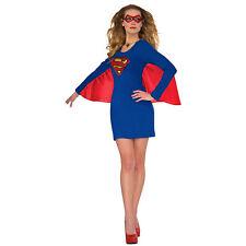 Superman Supergirl Winged Dress Blue