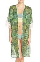 * NWT  Maaji 'Cacti Road' Cover-Up Green,One size