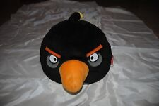 "Angry Bird Black Bird ""  16"" Commonwealth Plush toy no sound"