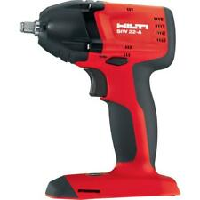 "HILTI SIW 22-A, 3/8"" Cordless Brushless Impact (Tool Only) NEW."