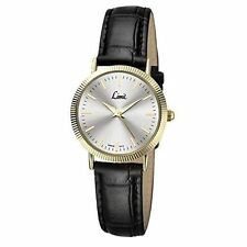 Limit Women's Quartz Watch With Silver Dial Analogue Display and Black Polyureth