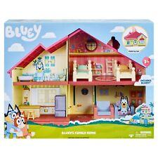 NEW BLUEY Blue Heeler Dog BLUEY'S FAMILY HOME House Playset Figure PACK & GO