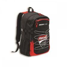 Ducati Corse DC Sketch Backpack Back Bag Black/red