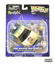 Back to the Future Minimates Rail Ready Time Machine with Cowboy Marty McFly