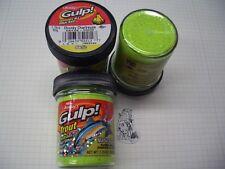 Berkley Power Bait Trout Bait Glitter Gulp Chunky Chartr. 3x50g-vetro 100g/6,66 €