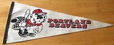 Portland Beavers Baseball Minor League Retro Vintage Pennant