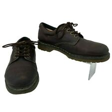 Dr. Martens Boston Shoes Men's Size 11 M Brown Leather Lace Up Oxford Casual