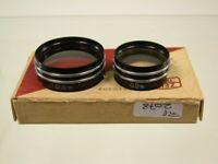Zeiss Ikon Ikoflex Nahlinse Close-up Filter Lens Aufsteck Push-on 2078/9