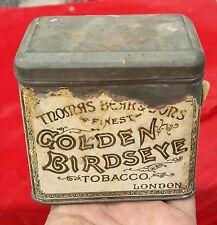 Vintage Rare Thomas Bear's & Sons-Golden Birdseye Tobacco Adv. Tin Box England