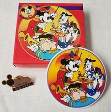 New Listing1993 Disneyana Convention Mickey Mouse Band Concert Disk Porcelain Ornament Le