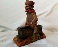 Tom Clark Train Gnome Figure Fargo 1991 Figurine Cairn Studios #70