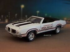 1970 70 OLDSMOBILE 442 INDY PACE CAR COLLECTIBLE MODEL - 1/64 SCALE DIORAMA