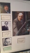 kojak (cast) cast genuine hand signed 32x22 inch